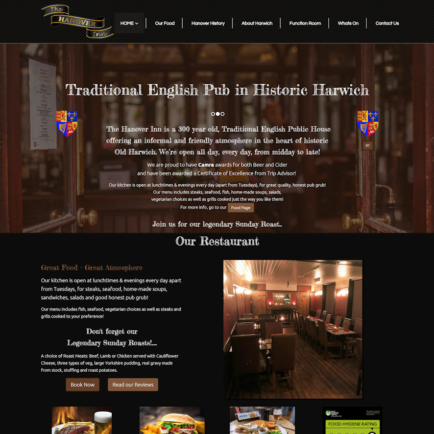 web design for pubs